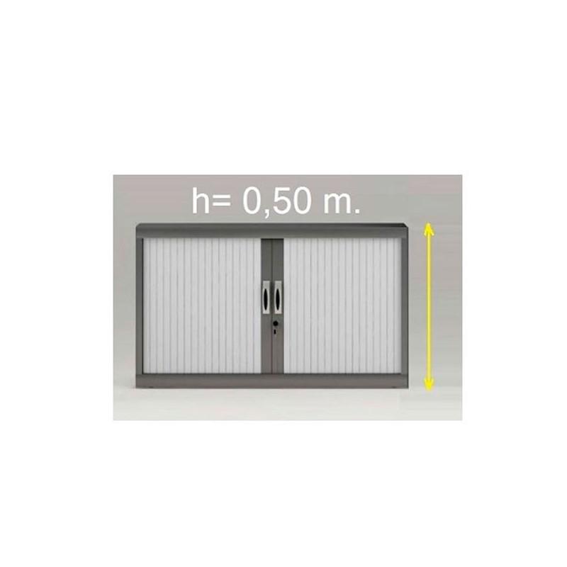 Armario persianas 0,50 m. sin estantes