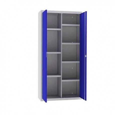 Armario de archivo con estantes