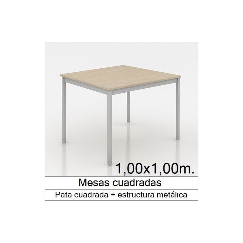 Mesa MADI CUADRADA 1000