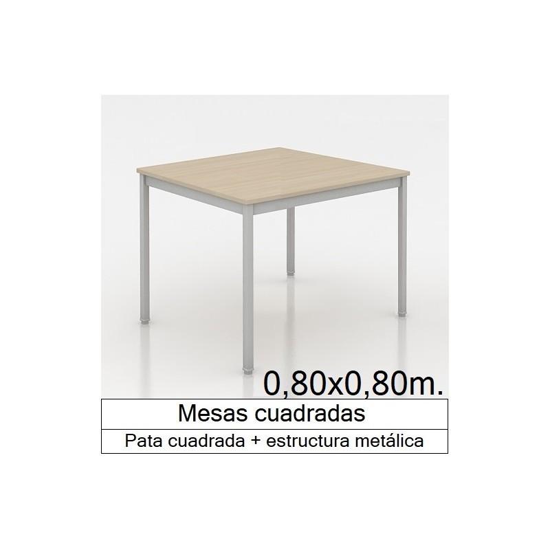 Mesa MADI CUADRADA 800