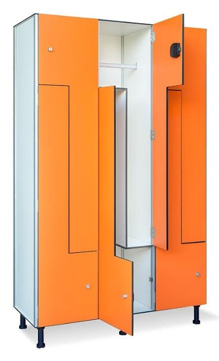 Taquillas de fenólico, resistentes, higiénicas y de alta calidad de fabricación.
