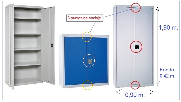 Armarios-puertas-batientes-cerradura
