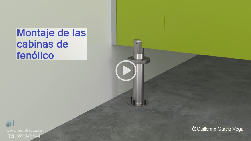Video informativo sobre el montaje de las cabinas y separadores de fenólico.