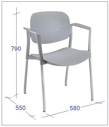 Medidas de la silla STOP