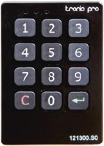 Cerradura electrónica TELEC.